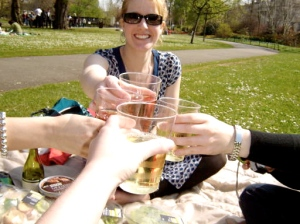 Easter Picnic in Regents Park