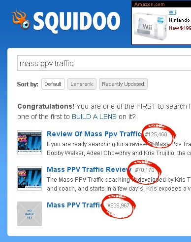 mass ppv traffic squidoo competition